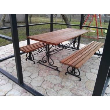 Купить Кованый стол для отдыха в Киеве